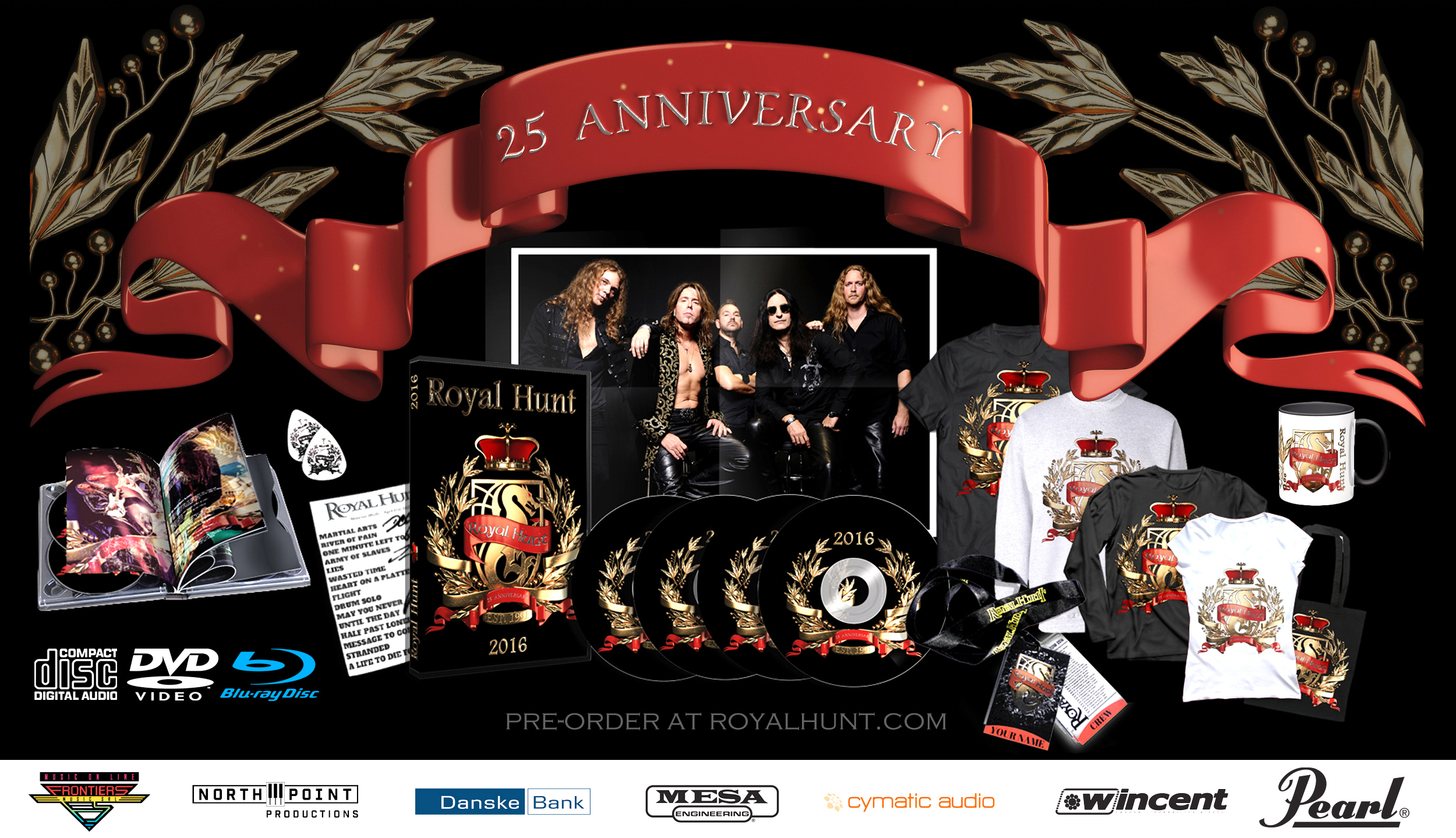 "Royal Hunt's 25th Anniversary - ""2016"""