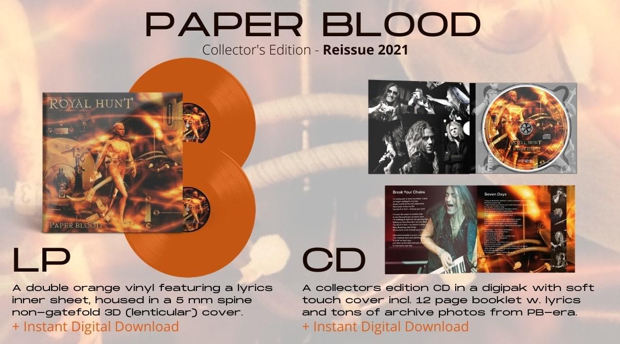 royal-hunt-studio-album-paper-blood-reissue-2021-new-progressive-power-metal-rock