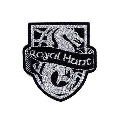 silver-woven-patch-logo